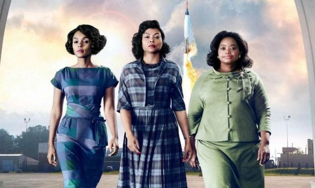 Actresses, Janelle Monae, Taraji P. Henson, and Octavia Spencer, star in a new movie, Hidden Figures, about three black women mathematicians who worked for NASA and were instrumental in getting astronaut John Glenn to orbit the earth