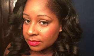 Nikkia McClain Pays Homage to Breast Cancer Awareness Month With Glam Night Out