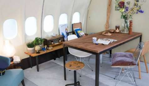 KLM Converts Plane into An Apartment and Lists on Airbnb