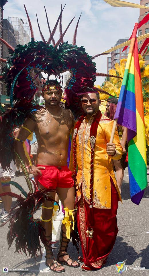 Anoop H Pandohie and Mohamed Q Amin founder Caribbean Equality Project