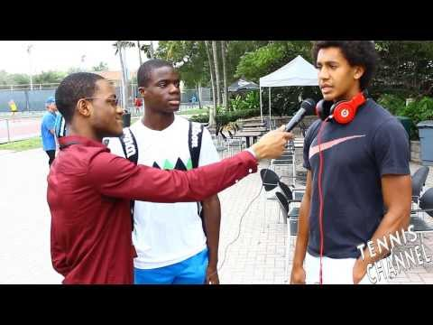 Francis-Tiafoe Michael-Mmoh Interview-rocking-Beats-by-Dre