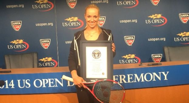 Sabine Lisicki at the US OPEN in Flushing, Queens, NY