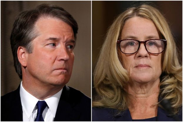 Gender politics were on full display at the U.S. Senate Judiciary Committee's hearing featuring Dr. Christine Blasey Ford. (Left to Right); US Appeals Court Judge, Brett Kavanaugh, and Dr. Christine Blasey Ford.