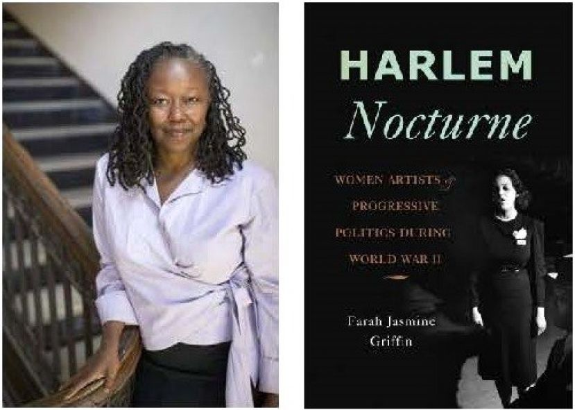 Book cover for author Farah Jasmine Griffin's book, HARLEM NOCTURNE: Women Artists & Progressive Politics During World War II