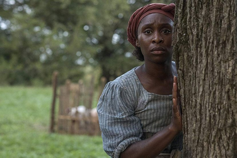 Actress Cynthia Erivo, in the title role of the movie, Harriet.