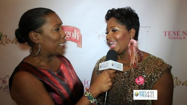 What's The 411TV reporter Barbara Bullard discusses Shopping Night Out with its founder, Nikkia McClain