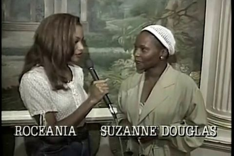 What's The 411 host Roceania Williams interviews actress Suzzanne Douglas for her role as Gloria in the film, Jason's Lyric.