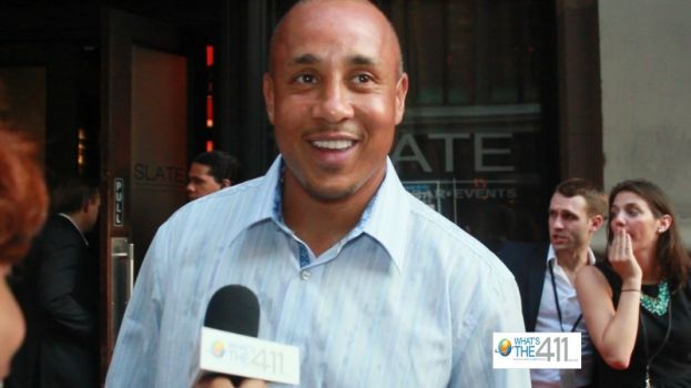 John Starks attends billiards tournament to raise money for Justin Tuck's R.U.S.H for Literacy