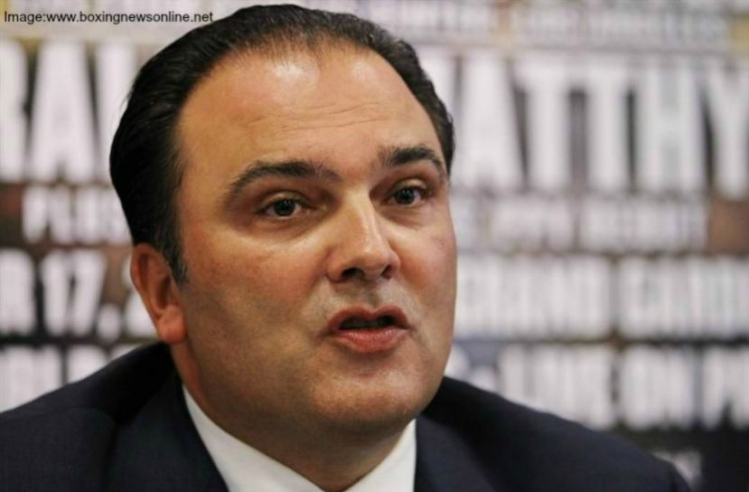 Golden Boy Promotions former CEO, Richard Schaefer