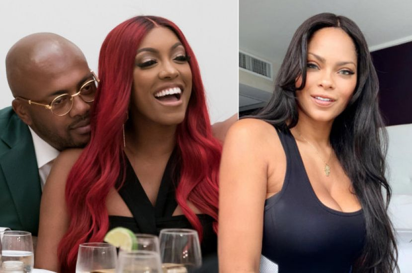 Porsha Williams of Real Housewives of Atlanta and Dennis McKinley (left) and WAGS Atlanta star, Sincerely Ward (right).