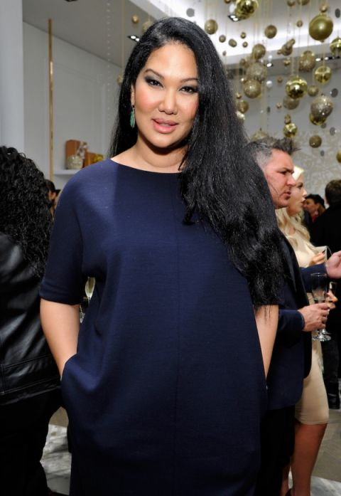 Kimora Lee Leissner at the opening of her Beverly Hills boutique