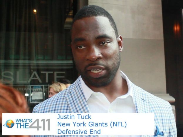 New York Giants' Justin Tuck hosted his annual Tuck's Celebrity Billiard's Tournament presented by RXR
