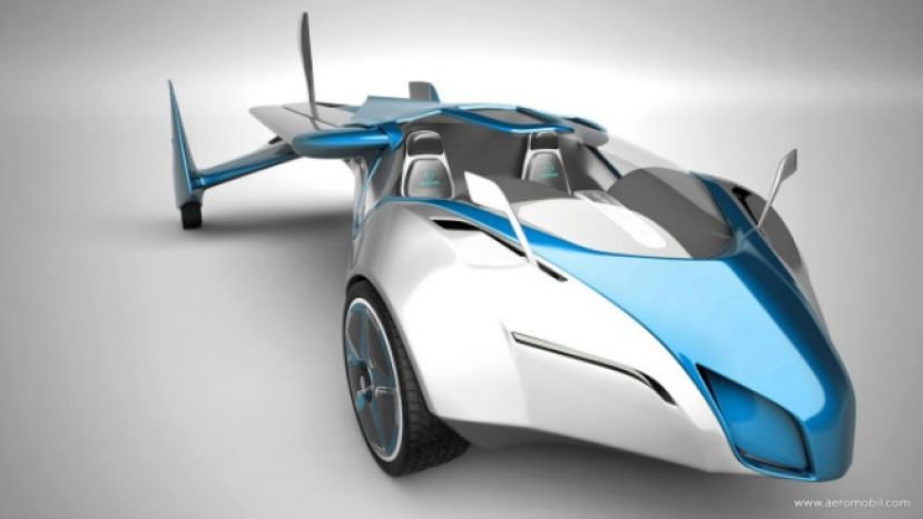The Aeromobil evo10 flying car from Slovakia