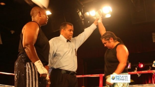 Professional Boxer Sonya Lamonakis Wins Fight Against Tanzee Daniel