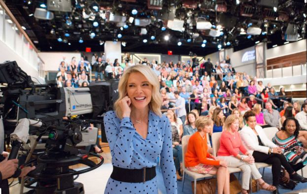 Megyn Kelly with studio audience of Megyn Kelly Today