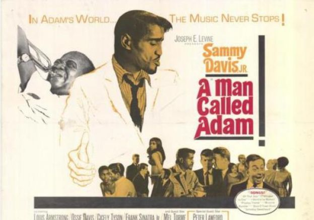 "Movie Poster for Ike Jones' ""A Man Called Adam"""