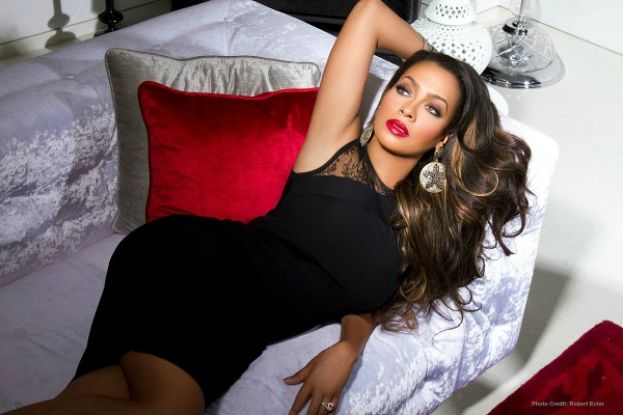 La La Anthony, television personality and New York Knicks player Carmelo Anthony's estranged wife
