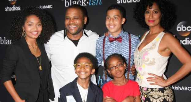 The cast of the ABC hit comedy series, Black-ish