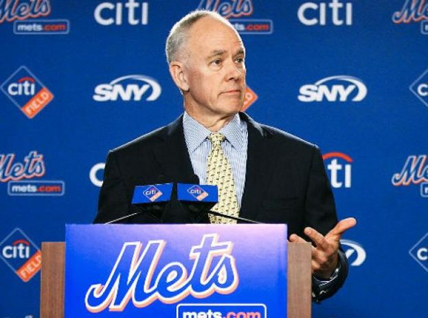 New York Mets GM Sandy Alderson