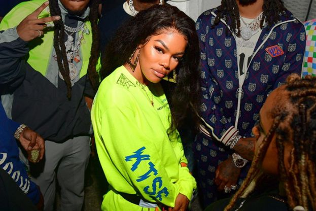 Songwriter, dancer, choreographer and, R&B and hip-hop artist, Teyana Taylor, promoting the release of her second studio album, K.T.S.E.