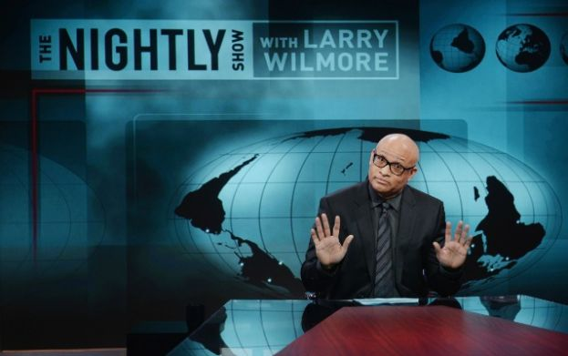 Comedian and late night show host, Larry Wilmore