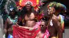 Caribbean LGBT Masqueraders Make a Vivid Display at NYC Pride Parade 2018